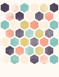 I really like the hexagon pattern in this image. I think it looks apart of the…