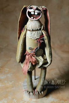 Rabbit out of time - Horka Dolls