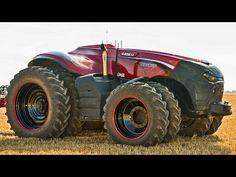 Casei IH el primer tractor sin piloto del mundo - MasQmotor