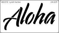 Island Paperie. Aloha Stencil