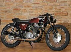 Honda CB 350 K4 Cafe Racer by Klassikkustoms #motorcycles #caferacer #motos | caferacerpasion.com