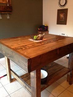 Kitchen table island by Brian Scicluna