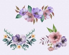 Wedding page Flower border clipart Watercolor Floral Frames Flower Border Clipart, Bride Clipart, Victorian Gothic Wedding, Flapper Wedding, Bridal Bouquet Pink, Jewel Tone Wedding, Pattern Images, Wedding Ties, Floral Watercolor