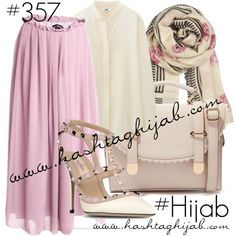 Hashtag Hijab Outfit #357 by hashtaghijab on Polyvore featuring Uniqlo, Valentino, ASOS, BeckSöndergaard and hijab