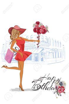 Birthday Ecards for Females Happy Birthday Wishes For A Friend, Happy Birthday John, Happy Birthday Greetings Friends, Happy Birthday Gorgeous, Happy Birthday Wishes Images, Birthday Wishes Cards, Cute Happy Birthday Pictures, Happy Birthday Ballons, Happy Birthday Wallpaper