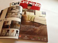 Diseño publicación aviso pisos revista Ambientes 2