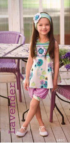 Zaza Couture Lavender Bloomer Set