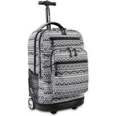 JWorld, Sundance Laptop Rolling Backpack - Walmart.com