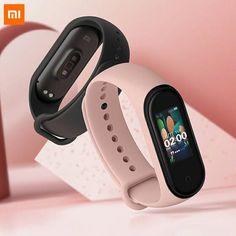 Original 2019 Newest Xiaomi Mi Band 4 Smart Band 4 Bracelet Heart Rate Fitness Tracker Color Screen Bluetooth - Black Smart Fitness Tracker, Waterproof Fitness Tracker, Bracelet Fitness, Smartwatch Waterproof, Sistema Android, Best Fitness Watch, Bluetooth, Smartphone, Smartwatch