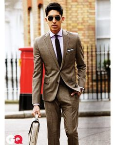 Dev Patel for GQ. Want to learn tailoring to the same level as a Savile Row tailor? Take Mastered's coat making course, taught by Savile Row's Andrew Ramroop: https://www.mastered.com/course-listings/4