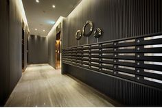 信箱區 - Google 搜尋 Commercial Interior Design, Commercial Interiors, Apartment Mailboxes, Portal, Locker Designs, Mail Room, Elevator Lobby, Lobby Reception, Office Fit Out