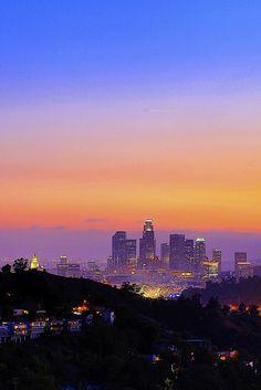 downtown LA (by 3dRabbit)