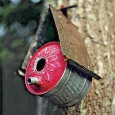 ECOMANIA BLOG: bird tables and Recycled