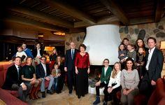 19 januari 2013: Familiefoto van Prinses Margriet ter gelegenheid van haar 70ste verjaardag