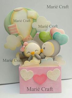 #eva #valentin #mariecraft Foam Crafts, Diy And Crafts, Crafts For Kids, Paper Crafts, File Decoration Ideas, Doll Making Tutorials, Balloon Flowers, Cardboard Paper, 3d Cards