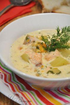 """Нежный, сливочный, сырный, сытный рыбный суп. Большой плюс – готовится быстро, без всяких заморочек и доступный по ингредиентам. Филе рыбное (семга, лосось) — 200-300 г Сыр плавленный """"Дружба"""" (по 100 гр.) — 4 шт Картофель — 3 шт Морковь — 1 шт Орехи кедровые…"""