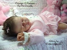 Reborn-Baby-Doll-Lifelike-Realistic-Vinyl-doll-kit-Katriona-Phil-Donnelly-Babies