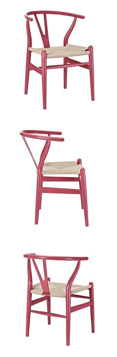 Woven Shaker Chair – Cranberry   dotandbo.com