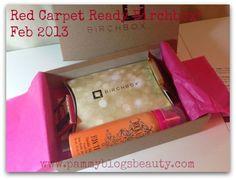 Pammy Blogs Beauty: Red Carpet Ready: Birchbox Box Opening!!! Feb 2013