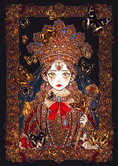 5 Anime, Anime Art, Pretty Art, Cute Art, Art Sketches, Art Drawings, Character Art, Character Design, Japon Illustration