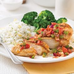 Poulet farci au jambon serrano et fromage Oka - 5 ingredients 15 minutes Salsa Chicken, Butter Rice, Sriracha Sauce, Barbecue, Risotto, Chicken Recipes, Food And Drink, Nutrition, Stuffed Peppers