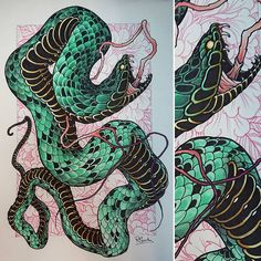 New print I did today #tattoo #tattoos #tattooist #tattooing #tattooed #tattooer #tattooart #tattooartist #tattooworkers #tattoodesign #snake #snaketattoo #ink #inked #art #design #drawing #illustration #newtraditional #neotrad #neotradsub #neotraditional #uk #uktta #uktattoo #neojapanese #japanesetattoo #japaneseart #peony #peonytattoo