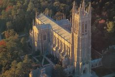 One of the largest congregations of any university church in the country, The Duke Chapel began construction in 1930 and is located on Duke University's West Campus.