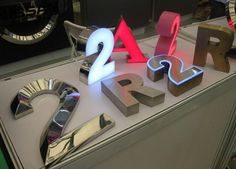 stainless steel sign letter