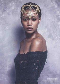 The Black Pearl of Braavos, Betty Adewole for MUSE MAGAZINE