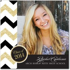 Scintillating Seal - Graduation Announcements - simplyput by Ashley Woodman - Black : Front Graduation Open Houses, 8th Grade Graduation, Graduation 2016, High School Graduation, Graduation Cards, Graduation Invitations, Graduation Ideas, Graduation Quotes, School Parties