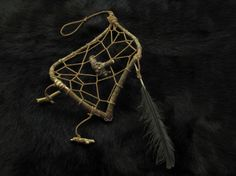 Witch dreamcatcher Wiccan, pagan dream catcher nature witch talisman