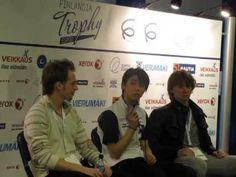 Finlandia Trophy 2013 men lp press conFerence - YouTube