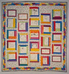 preschool quilt idea