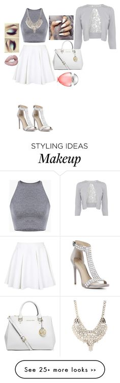 """Untitled #55"" by anaflores7822 on Polyvore featuring мода, Topshop, MICHAEL Michael Kors, Bulgari, Jane Norman и BCBGMAXAZRIA"