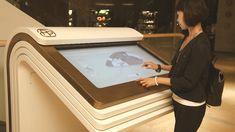 Futuristic digital way finding