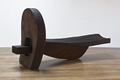 Blunk Dreamlock, 1982 Redwood 51 x 101 x 28 inches Concrete Furniture, Funky Furniture, Art Furniture, Unique Furniture, Rustic Furniture, Furniture Design, Public Seating, Wood Sculpture, Abstract Sculpture