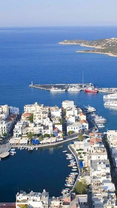 Agios Nikolaos in Lassithi, Crete, Greece