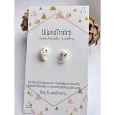 A personal favorite from my Etsy shop https://www.etsy.com/ca/listing/475613865/halloween-earrings-ghost-earrings