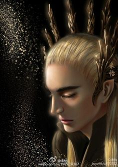 "sigun-i-loki: ""  Thranduil by 未怡. """