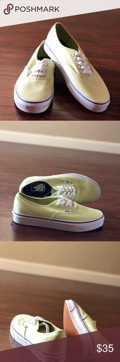 1a7f661de35 Vans Authentic Shadow Lime True White Canvas Vans Authentic Shadow Lime  True White Canvas Shoes US