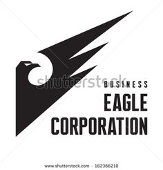 Eagle Corporation - Logo Sign in Classic Graphic Style for Business Company