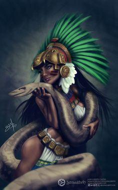 Quetzalcoatl por juanalbertolife - Fantasía | Dibujando.net