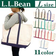 a773c4fea5e7 送料無料 アウトドアブランド L.L.BEANトートバッグ Lサイズ黒 赤 青 緑 迷彩 ピンク