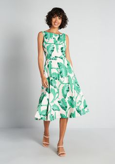 Fruit dress Search Results | ModCloth Plus Size Fashion Dresses, Plus Size Outfits, Poppy Dress, Green Dress, Vintage Inspired Dresses, Vintage Dresses, Types Of Dresses, Cute Dresses, Mid Length Skirts