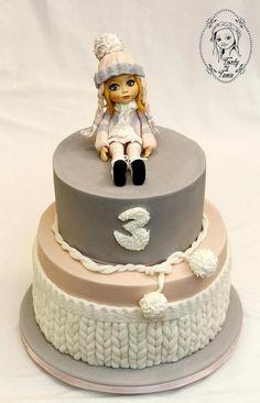 Bábiková torta ako namaľovaná:) Torta, bábika, torty pre dievčatá. Autorka: grasie. Tortyodmamy.sk.