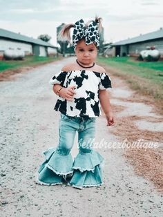 Western Baby Girls, Western Baby Clothes, Baby Kids Clothes, Country Baby Clothes, Country Babies, Cute Country Outfits, Cute Little Girls Outfits, Cute Little Baby, Toddler Girl Outfits