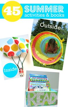 Summer Activities For Kids - No Time For Flash Cards