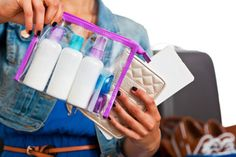 How to pack your cosmetics for travelling