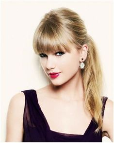 Taylor Swift Simple Droite Taylor Swift Bangs Droite Simple P