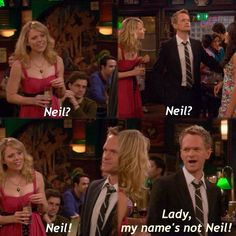 One of the best moments on the show! Along with the time barney says child actors were so much better in the How I Met Your Mother, Himym Memes, Best Tv, The Best, Barney And Robin, Best Umbrella, Yellow Umbrella, Neil Patrick Harris, I Meet You